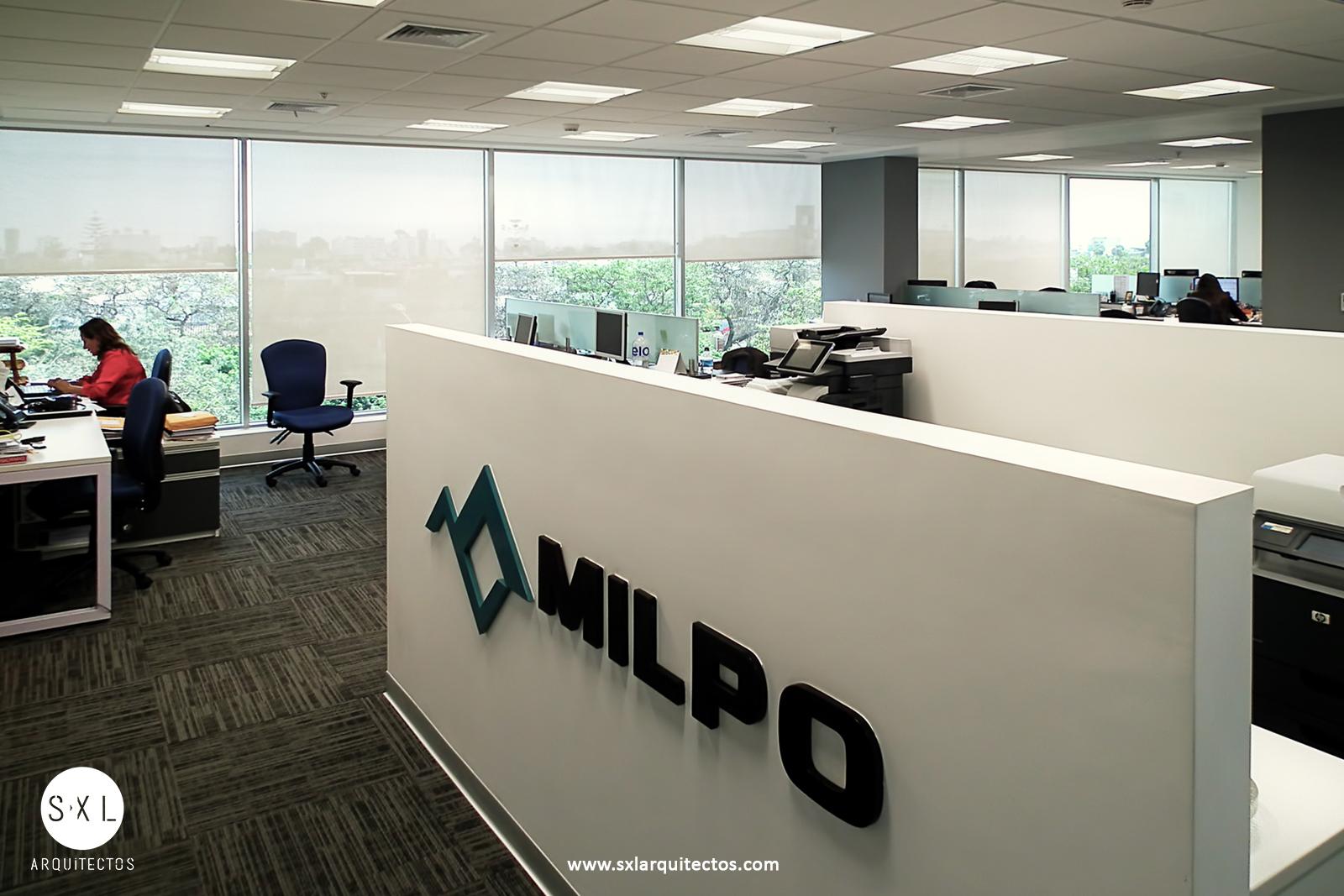 Dise o de oficinas milpo lima per s xl arquitectos for Diseno de oficinas