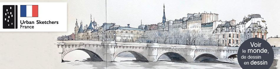 URBAN SKETCHERS FRANCE