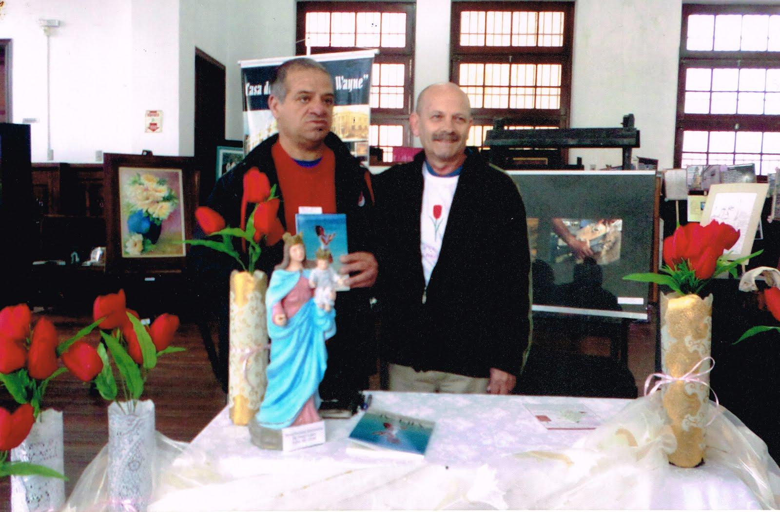Manoel Ianzer com Ademir Jardim Martins