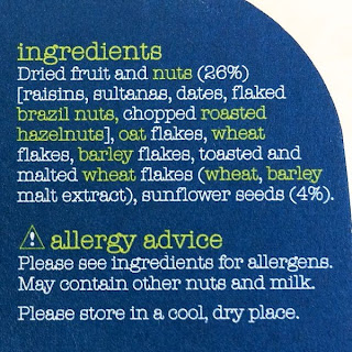 Dorset Cereals Breakfast Pot (muesli) vegan ingredients