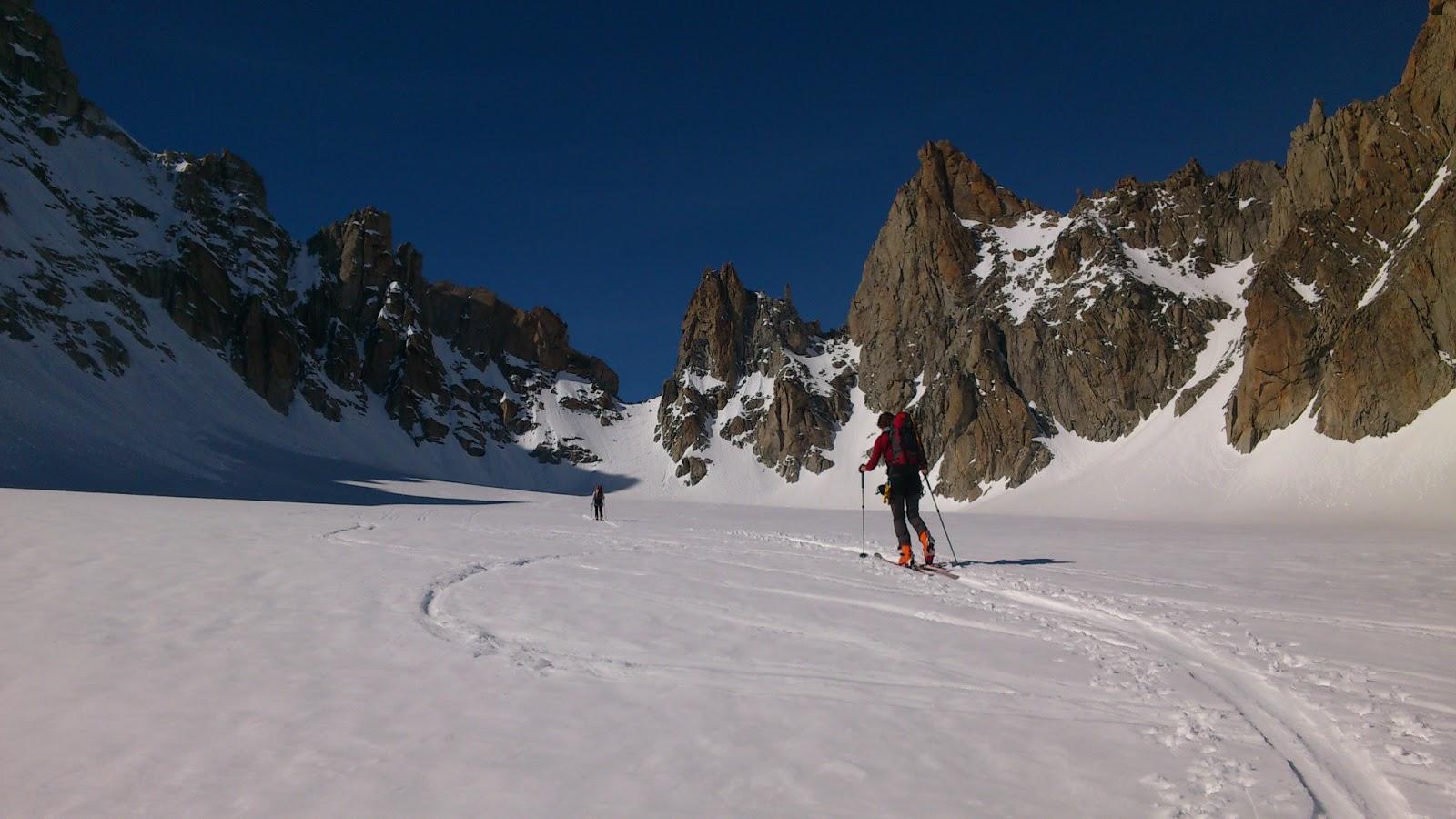 Výstup do Fenétre de Saleina3.267 m n.m.