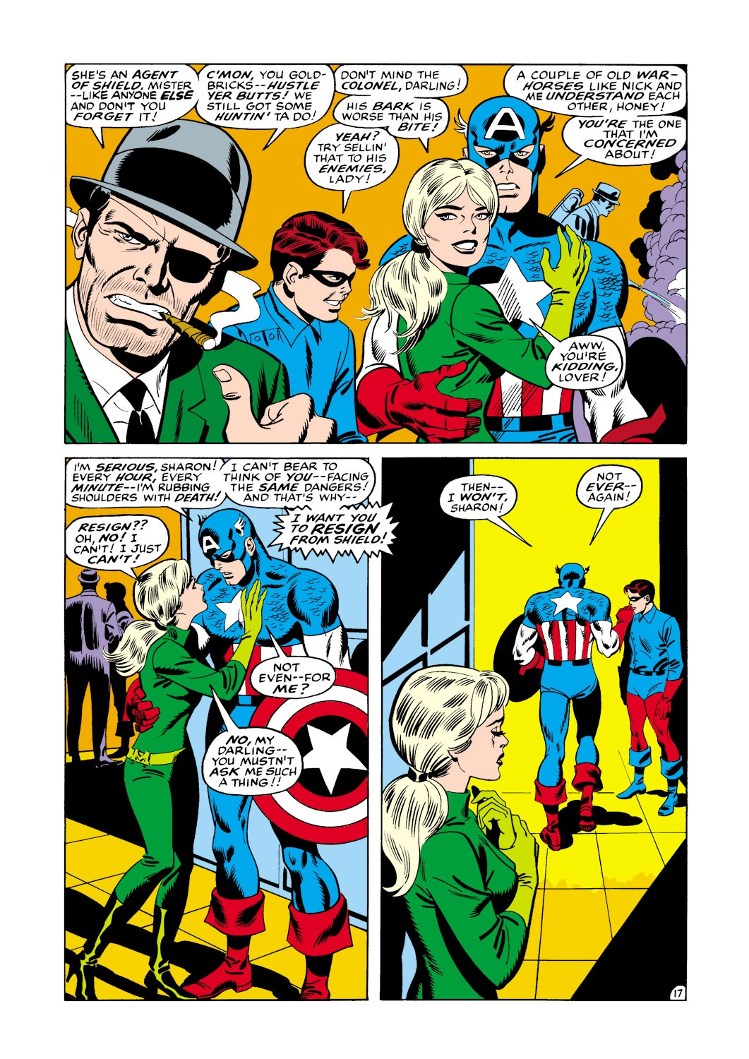 Captain America (1968) Issue #114 #28 - English 18