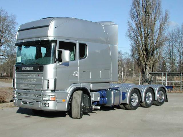 videos+de+camiones+scania+longline+gris
