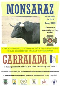 Monsaraz- Garraiada- 1 Junho (17h)