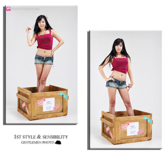 3 Yook Ji Hye - Your Package Just Arrived-Very cute asian girl - girlcute4u.blogspot.com