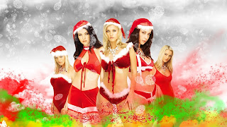 Free Download Sexy Santa Girls Wallpaper