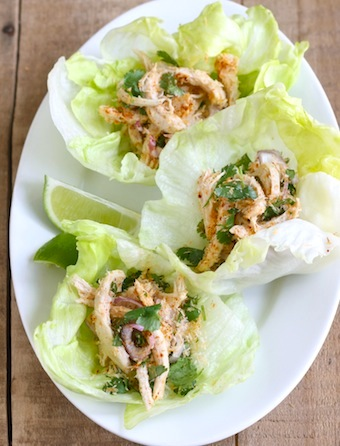 coconut chicken lettuce wrap recipe