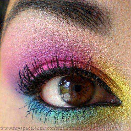 beauty sanaworld: How To Apply Scene Eye Makeup - Scene Makeup