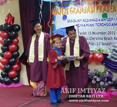 Majlis Graduasi PraSekolah SKSG 2015