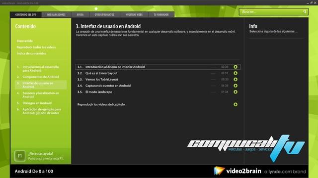 Curso Video2brain Android De 0 a 100 Español