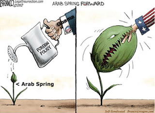 Obama Courts Arab Spring, Terrorist front, failure as president