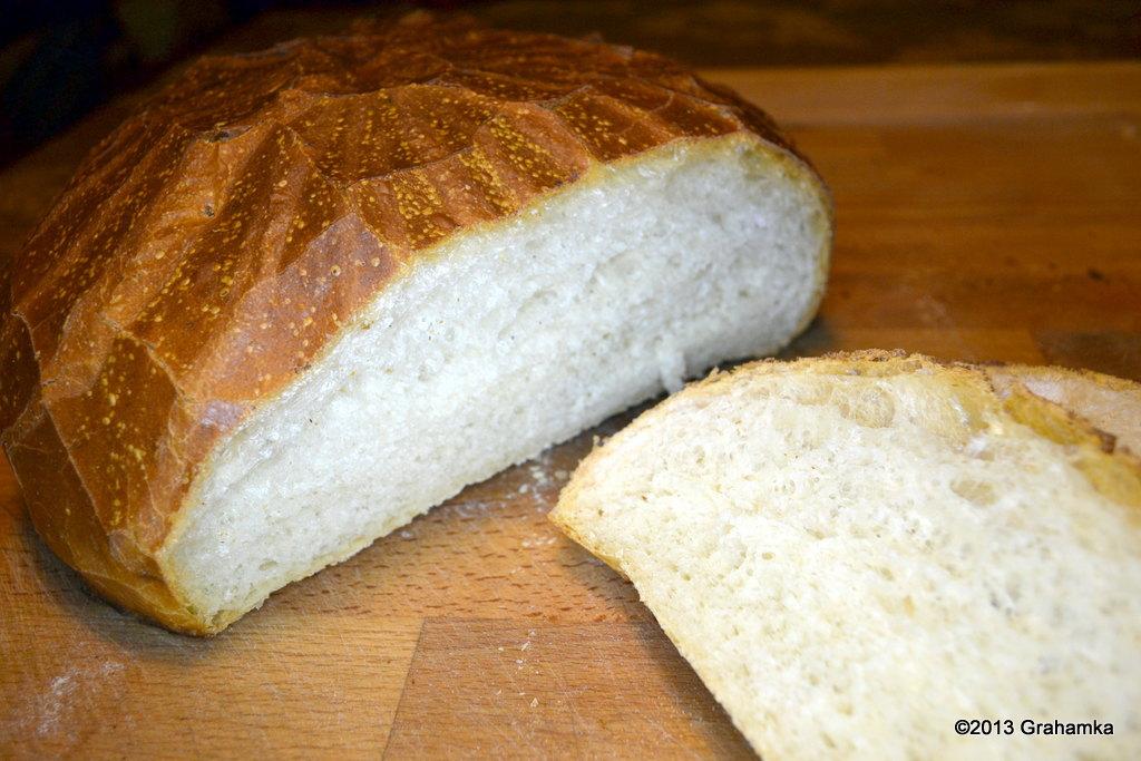 Upieczony chleb.