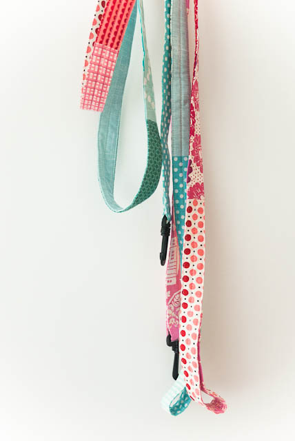 fabric sewn patchwork quilted dog leash