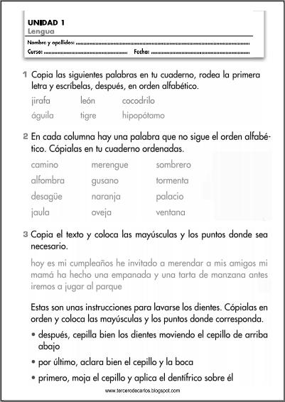 http://www.primerodecarlos.com/TERCERO_PRIMARIA/septiembre/unidad1/fichas/lengua/ficha1_c.pdf