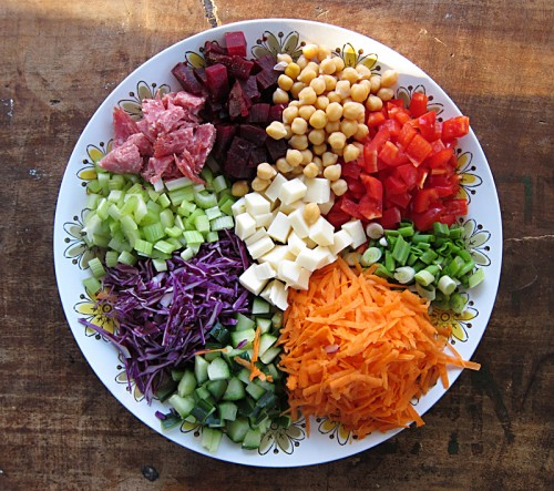 ... Salad Meal - Heal your body with beautiful salads - Healthy eating