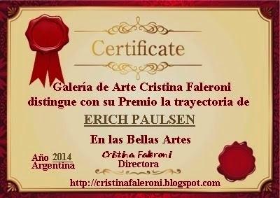 Erich Paulsen - Premiado