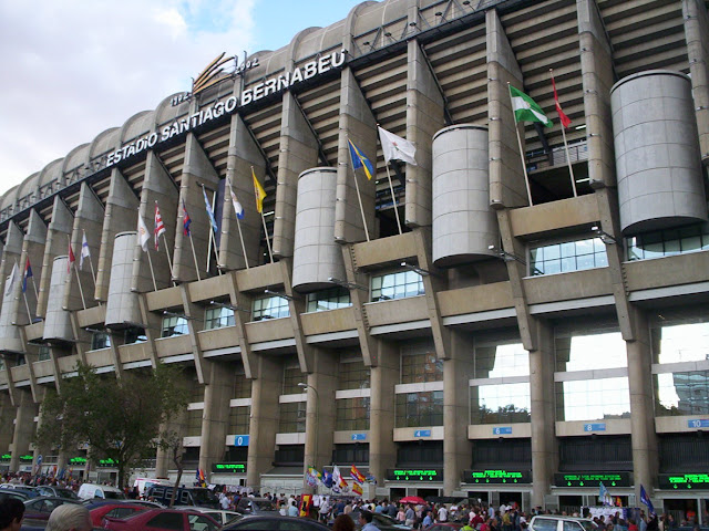 Estadio Santiago Bernabéu, Real Madrid (Madrid)