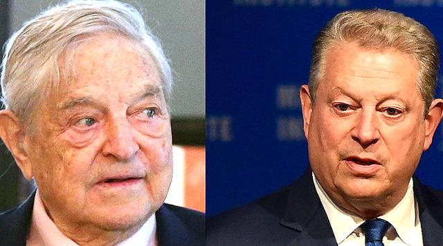 Ο Σόρος χρηματοδότησε την εκστρατεία του Αλ Γκορ για να προωθήσει την απάτη του φαινόμενου του θερμοκηπίου
