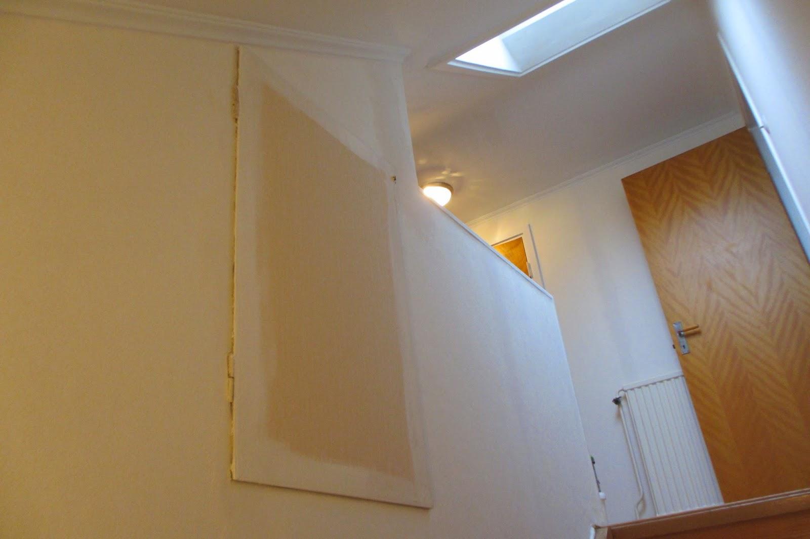 Pias Planer: Fixa trapphus och övre hall - klart