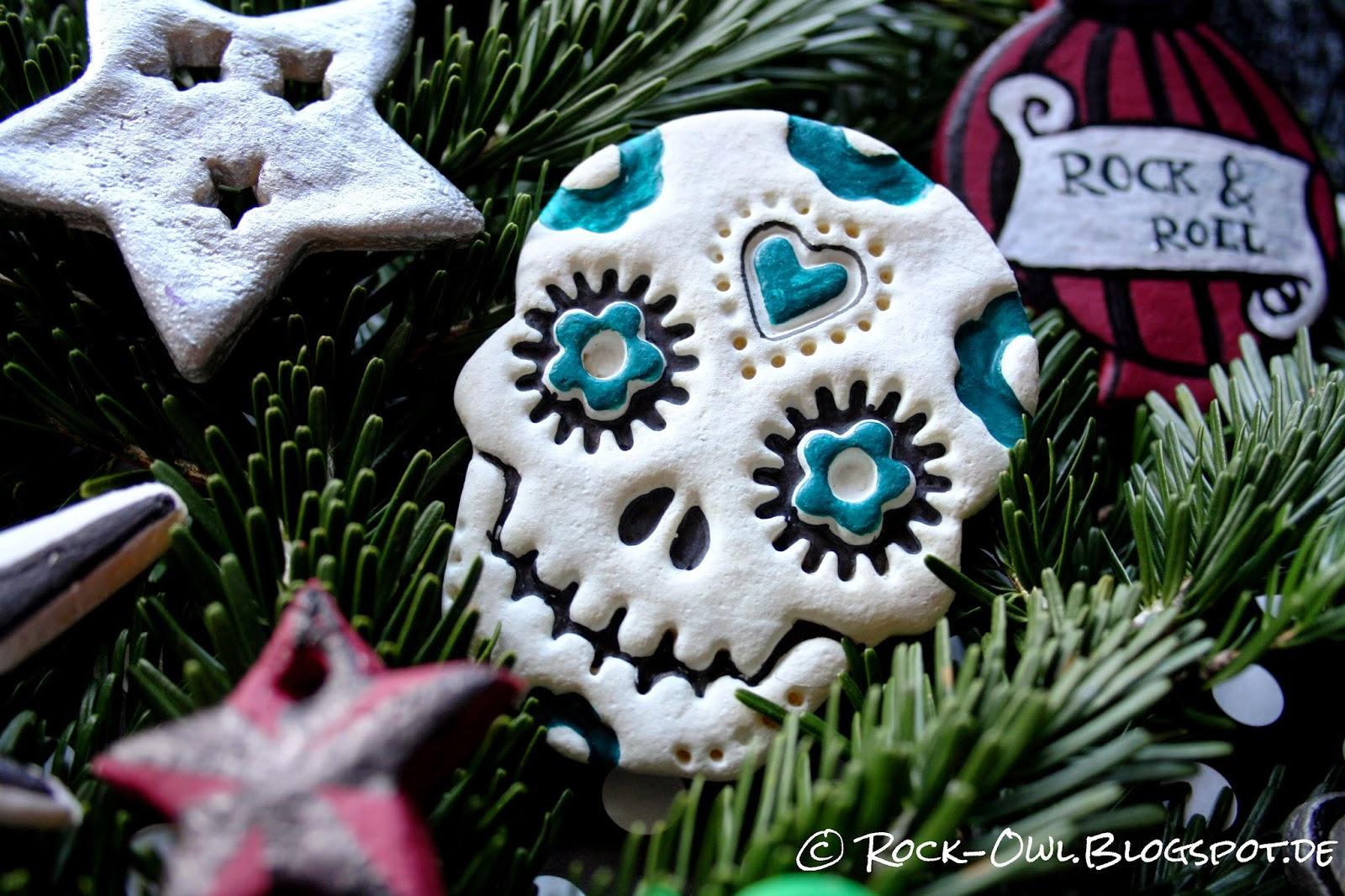 Rock and owl blog rockabilly christbaumschmuck for Christbaumschmuck selber machen kinder