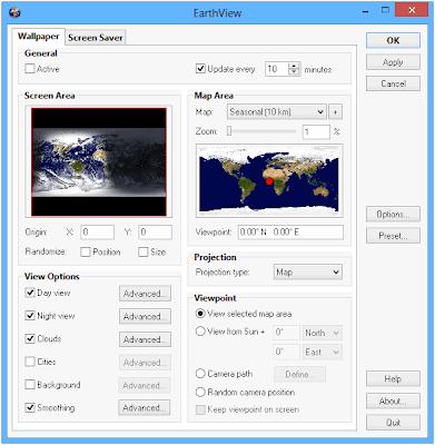 تحميل برنامج EarthView مجانا لمشاهدة الارض من الفضاء