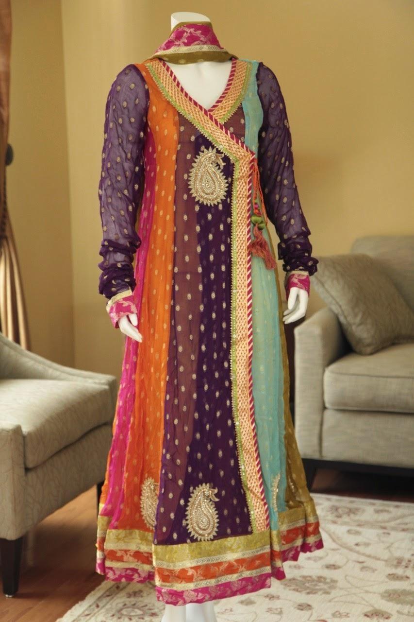 Angarkha Dresses Why Angarkha Angrakha Is Most Important Pakistani Fashion In 2014 She9