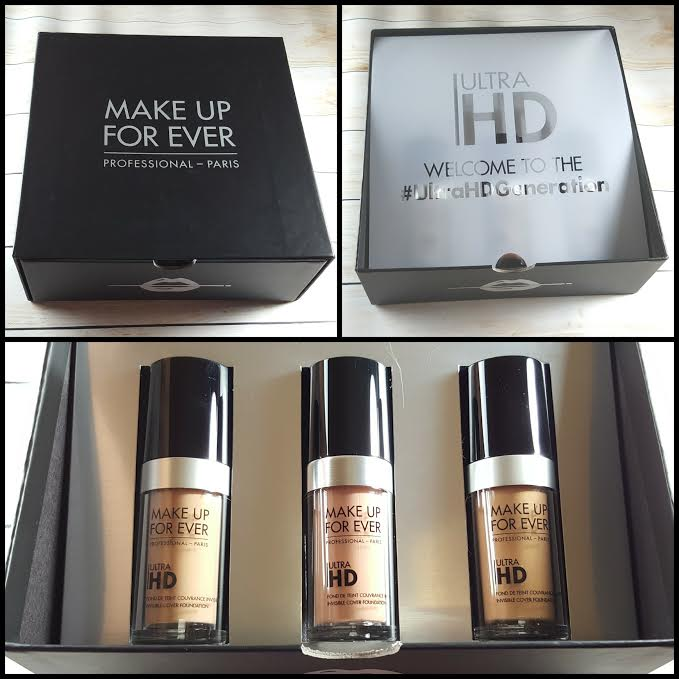 THE POWER OF MAKEUP with MAKE UP FOR EVER Ultra HD Foundation : Swatches and Review