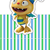 Henry Hugglemonster: Free Printable Original Nuggets or Gum Wrappers.