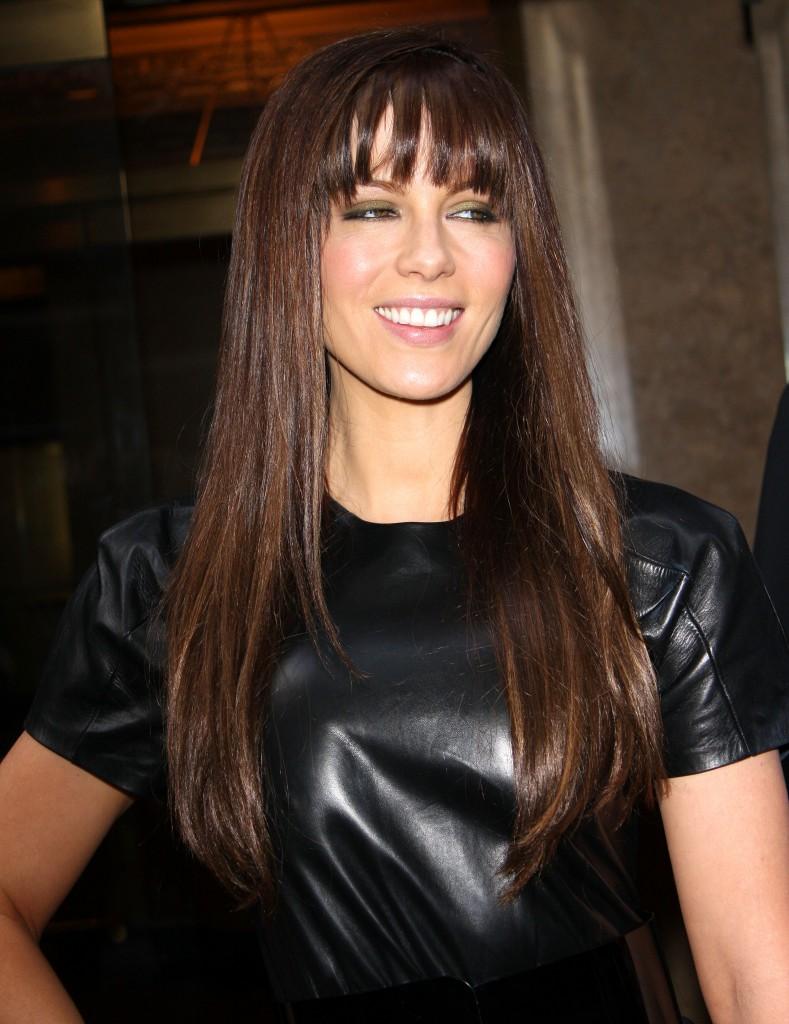 Popular World Celebrity Or Celebrities Bangs Hairstyles