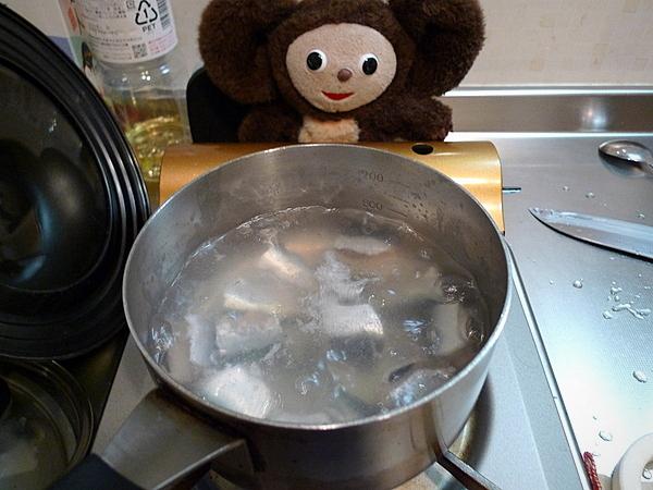 イワシの炊き込みご飯の作り方(1)