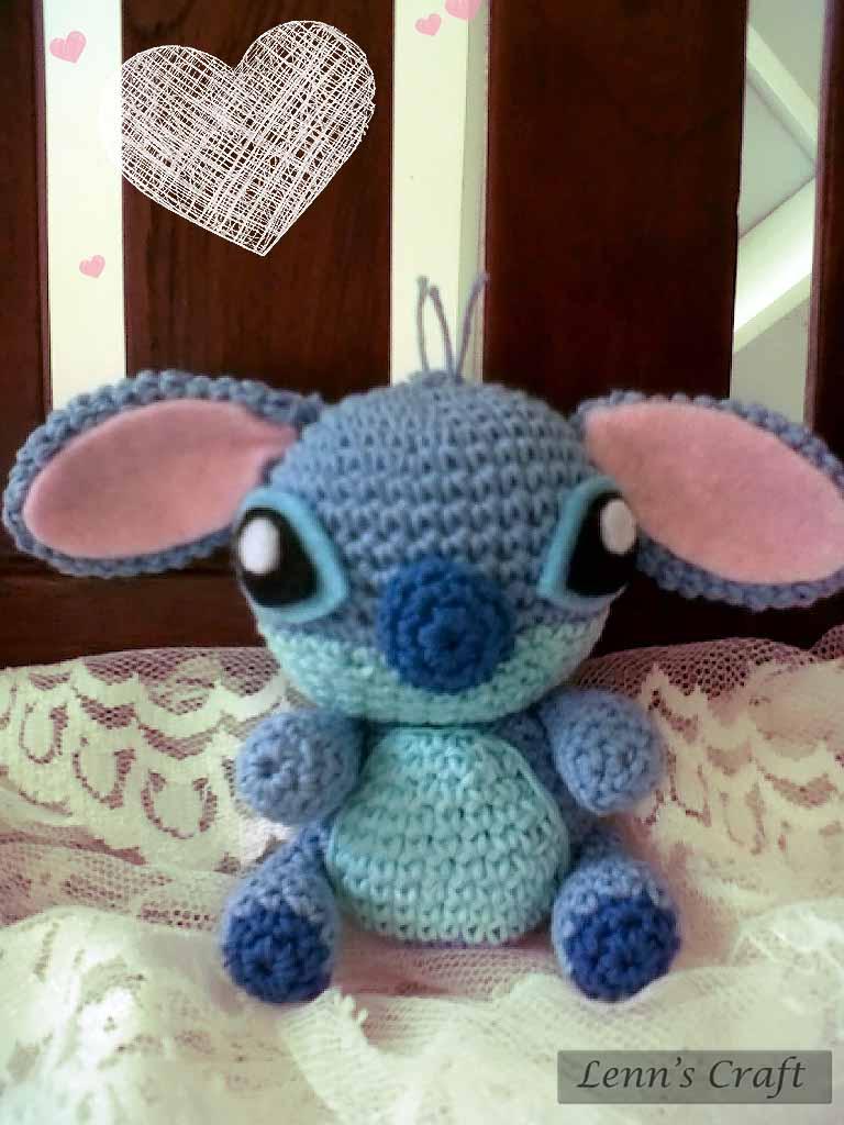 Lenns Craft ? Handmade doll? Amigurumi ? : Stitch Crochet ...