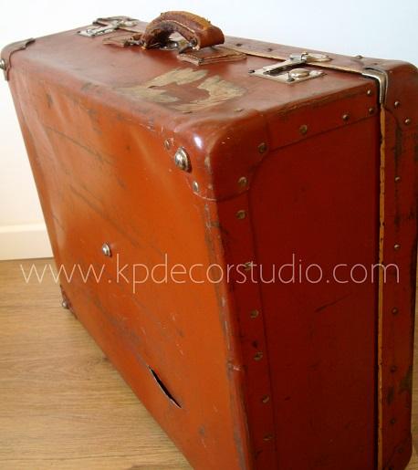 Tienda online de maletas vintage antiguas para decoración de locales y negocios