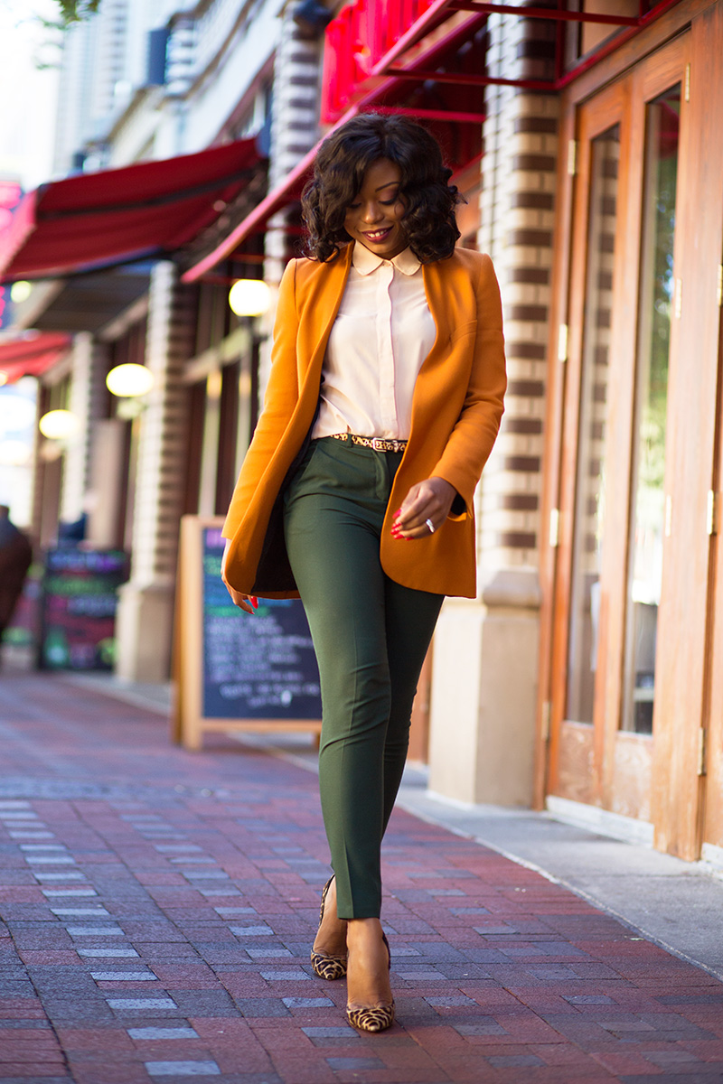 Fall colors for work, zara blazer, www.jadore-fashion.com