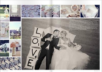 Paper Runway magazine spread