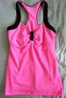 STyle Athletics Pink Black AVia Tank Top Marshalls