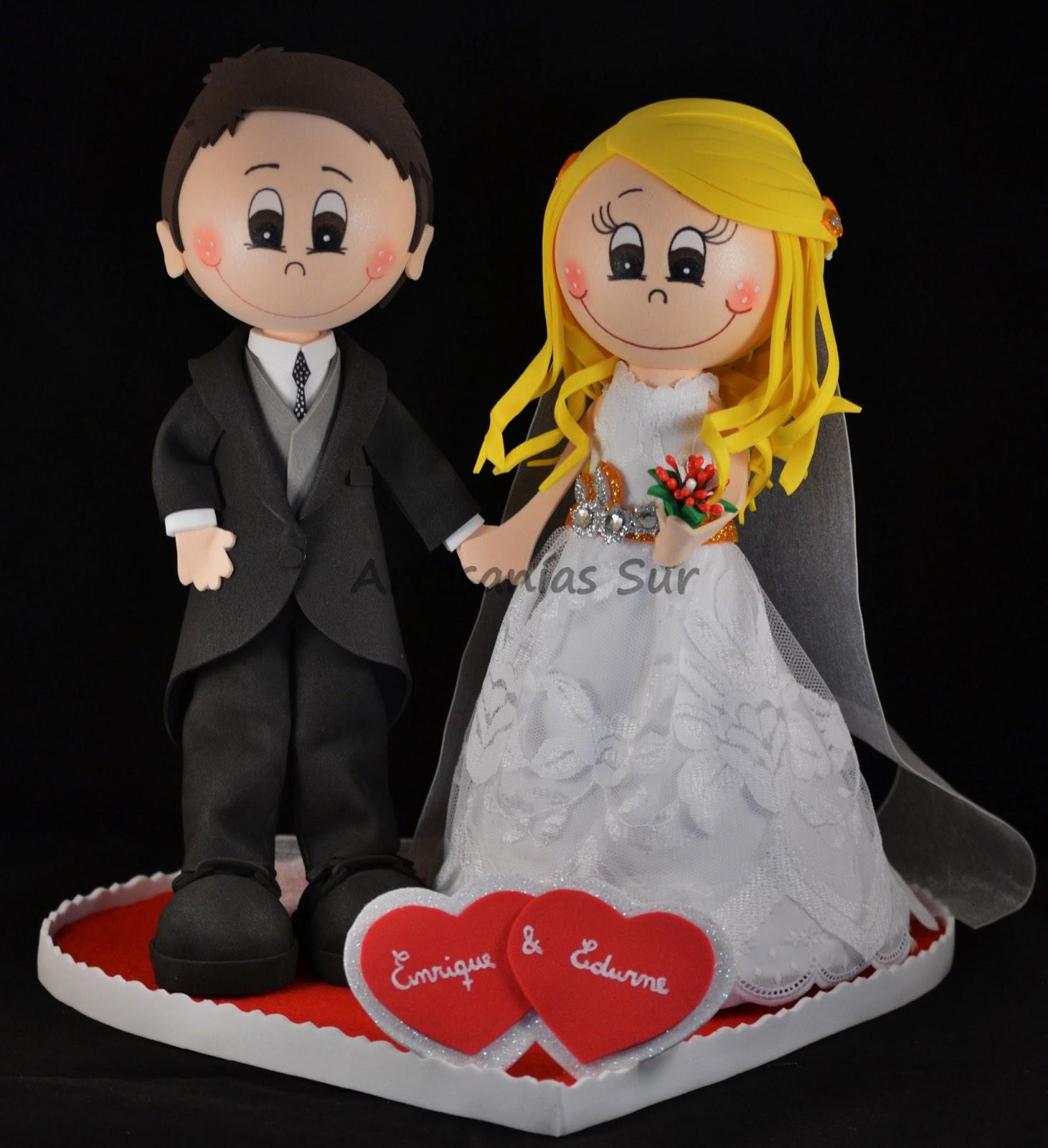 Fofuchas para bodas - Imagui
