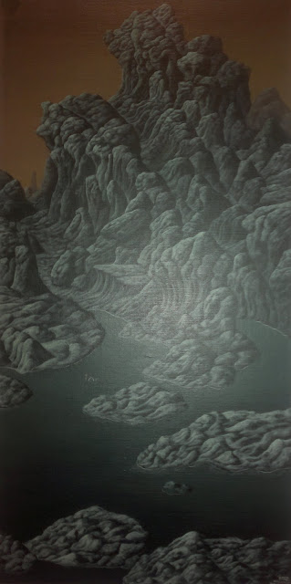 "Chi-Liu, Wang Tianxuan, ""Mountain Lore"",  Art Seasons Gallery, #02-21/24, 1 Selegie Road, Singapore"
