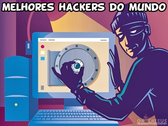 Os 5 melhores hackers do mundo