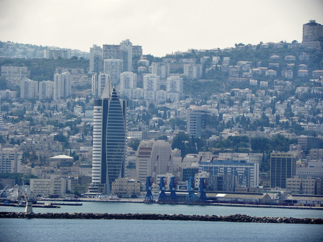 Haifa city and Bahai Temple