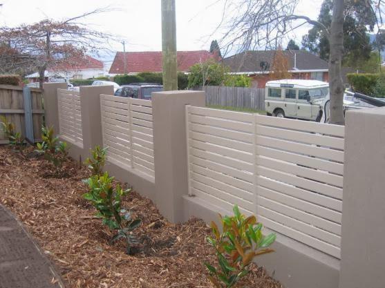 reka bentuk pagar rumah teres