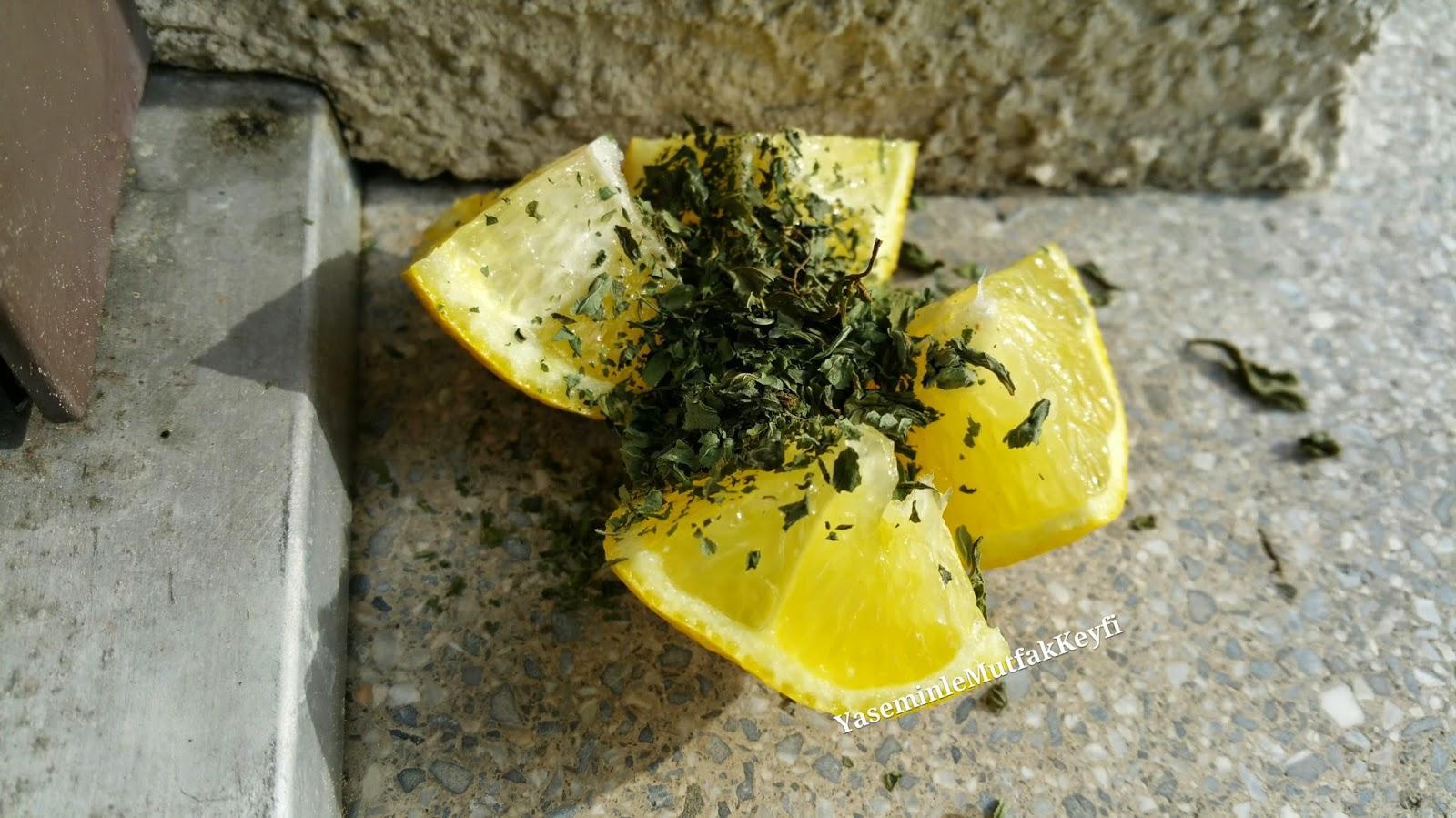 Limon & kuru nane