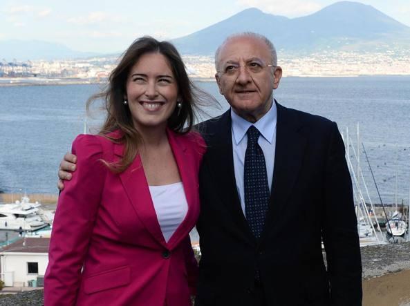 Maria Elena Boschi e Vincenzo De Luca