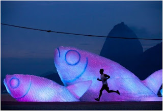Ψάρια γίγαντες φτιαγμένα από πλαστικά μπουκάλια-3