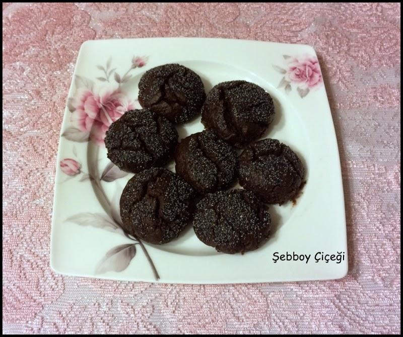 kakaolu haşhaşlı şekerpare