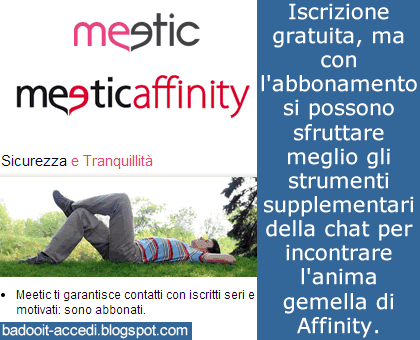scopare con meetic affinity sito