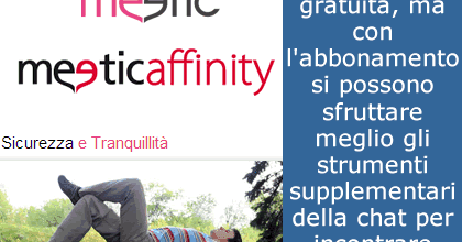 donne per serate meetic affinity chat