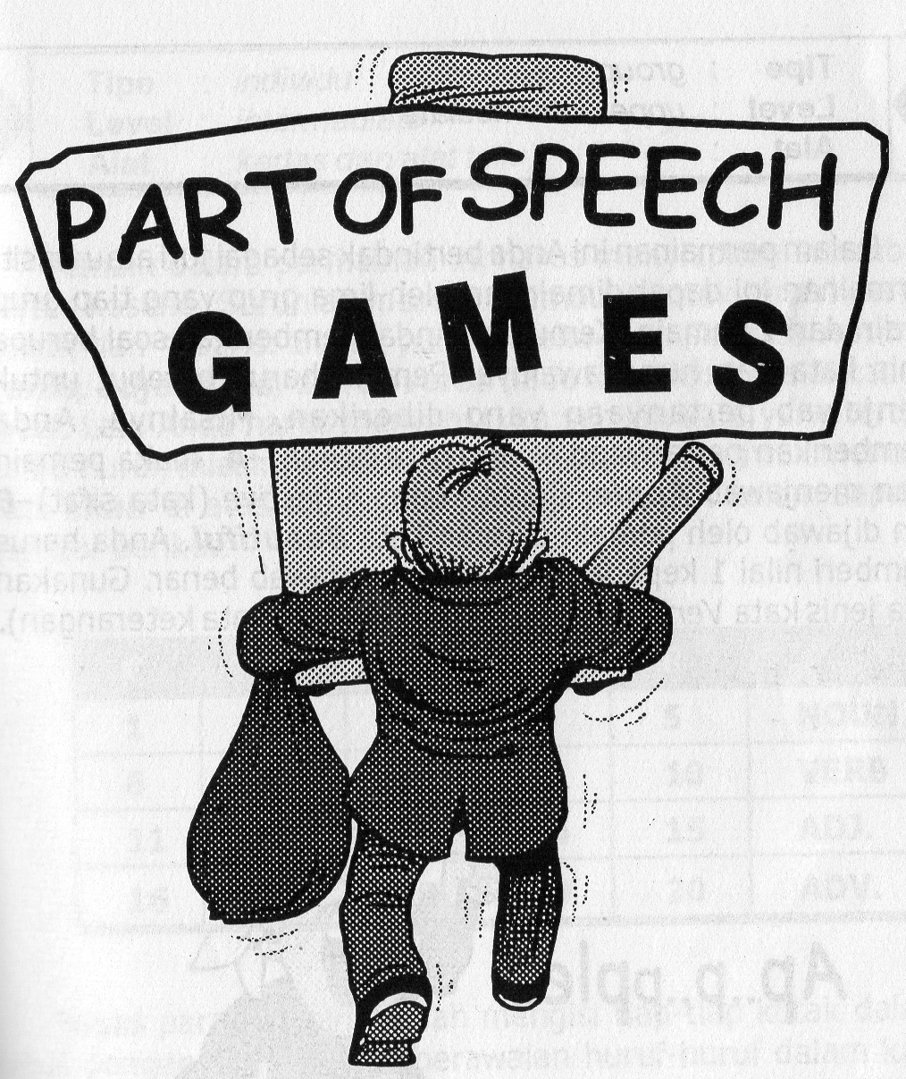 3 Contoh Part Of Speech Games yang Menyenangkan