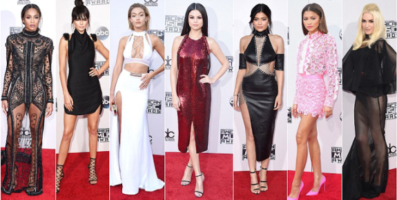 American Music awards Red carpet 2015 PHOTOS
