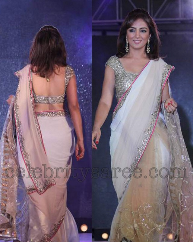 manish malhotra sarees at cpaa 2012 saree blouse patterns