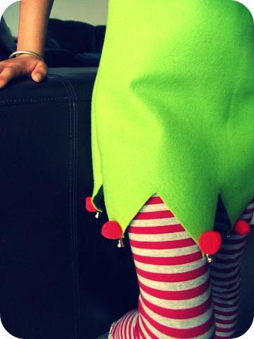 diy disfraz de elfo navideo